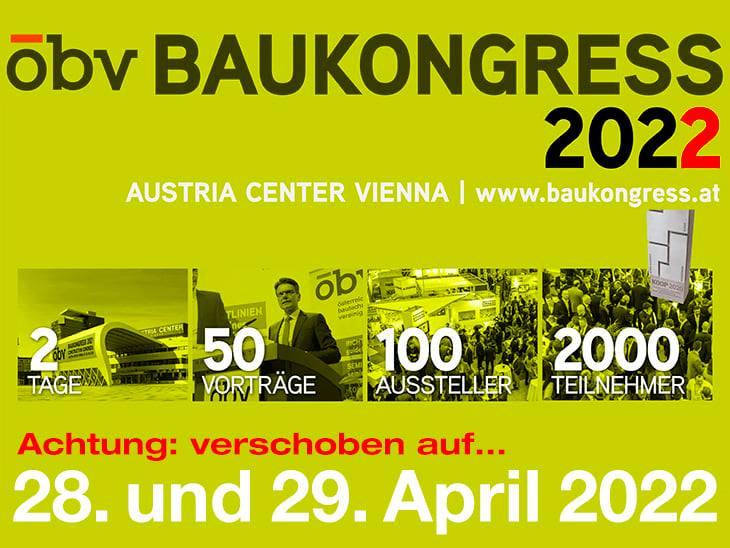 ÖBV: Baukongress 2022